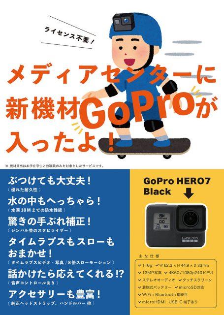 GoProポスター