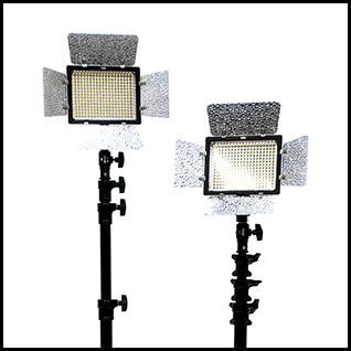 LEDライト2灯セット