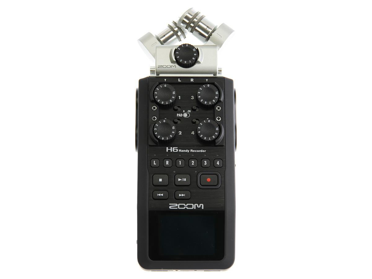 ハンディレコーダー Zoom H6