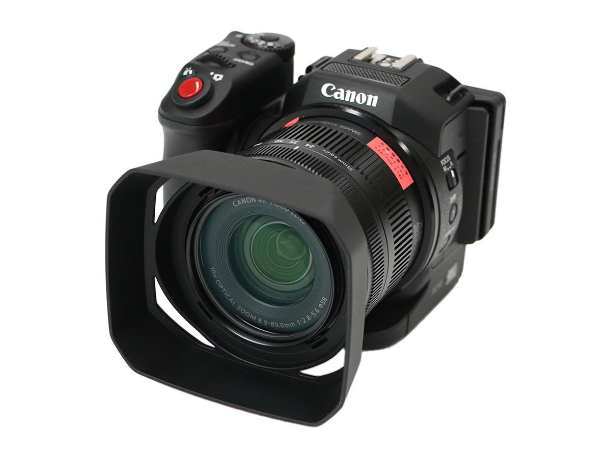 4Kビデオカメラ Canon XC10