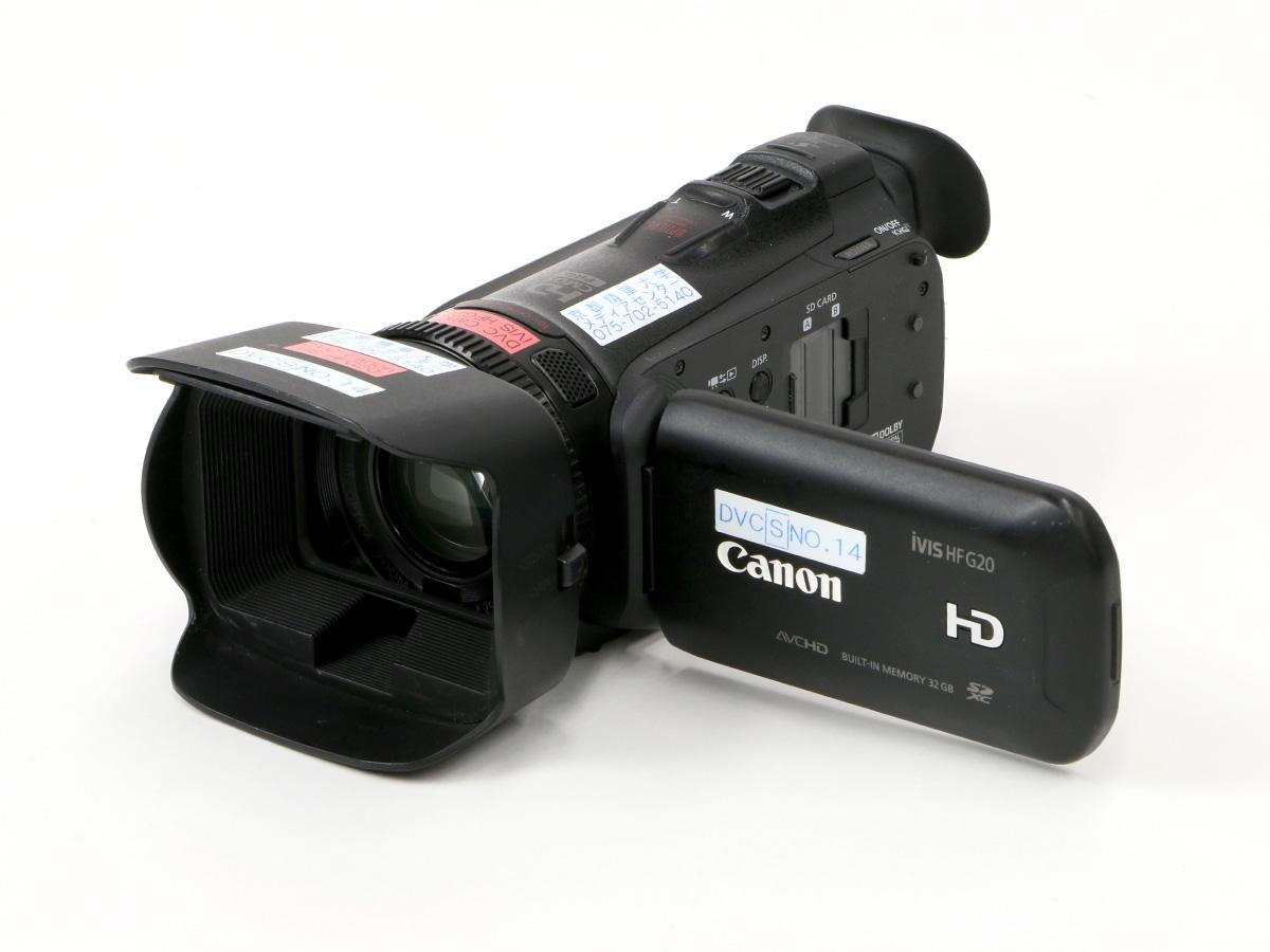 フルHDビデオカメラ Canon iVIS G20